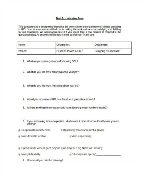 employee exit template word exit form employee exit 19 best
