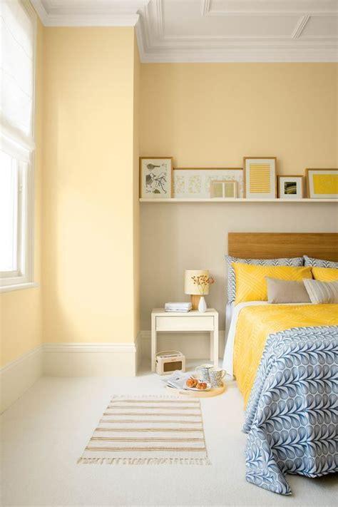 easy ways  add yellow   bedroom yellow