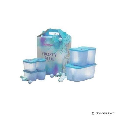 Tupperware Frosty Blue jual tupperware frosty blue collection murah bhinneka