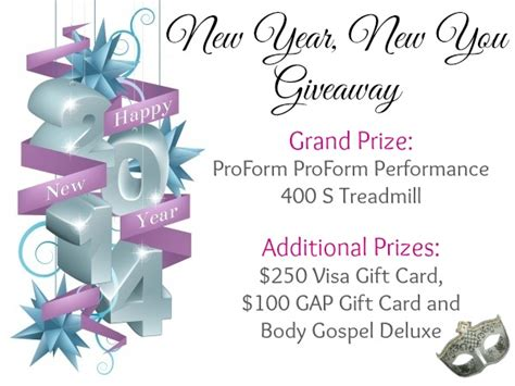Treadmill Giveaway - win treadmill in new year new you giveaway work money fun