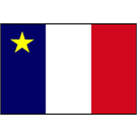 acadian flag products acadian flags flag of acadia