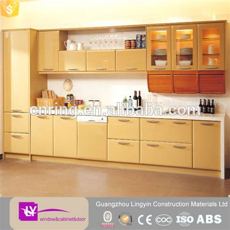 2016 modern models kitchen furniture guangzhou factory