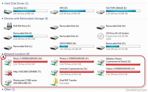 how to map a drive how to map network drives in windows 7