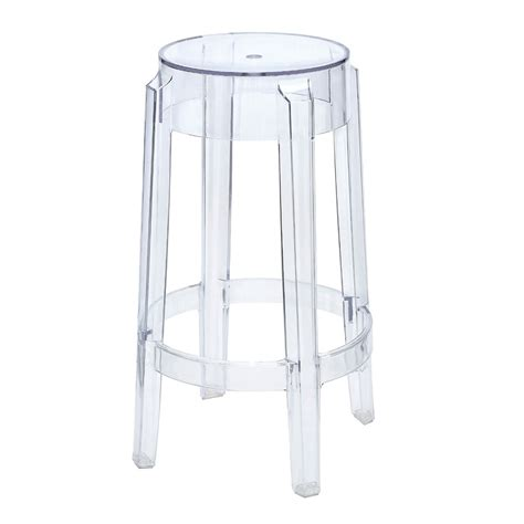 Ghost Stool by Replica Charles Ghost Stool 65cm Place Furniture
