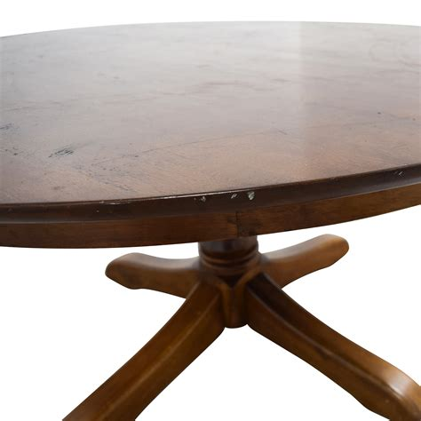 abc home dining table 71 off abc home abc home mid century round dining table