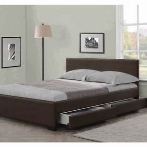 cheap king size beds with mattress 4 drawers leather storage bed double or king size beds