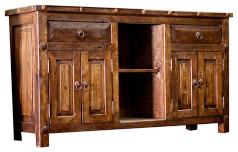 reclaimed sink vanity 60 quot rustic bathroom