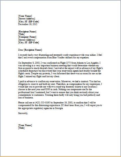 Dentist Complaint Letter Exle
