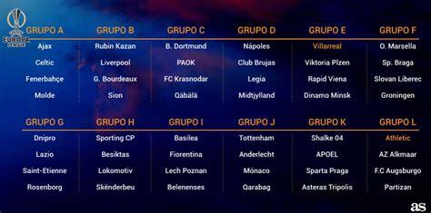 Calendario J League 2015 Sorteo Fase De Grupos Europa League 2015 16 Identi