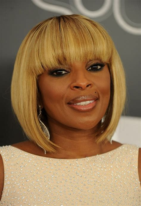 african amercian inverted bob blonde african americans