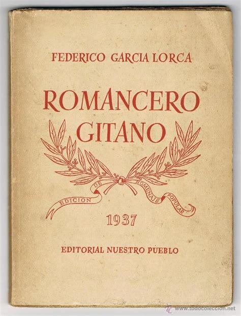 libro romancero gitano romancero gitano federico garcia lorca a 241 o 19 comprar libros de la guerra civil espa 241 ola en