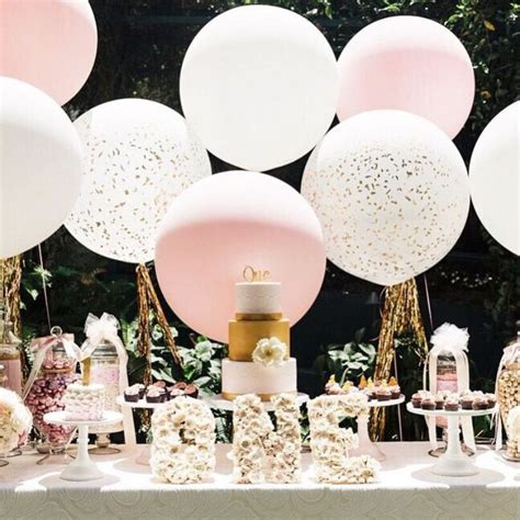 bridal shower table decorations blush and gold dessert table entertain tie the knot
