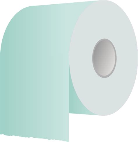 Toilet Paper Roll clip art Free Vector / 4Vector Empty Toilet Paper Roll Png