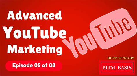 tutorial youtube marketing advanced youtube marketing bangla tutorial 2017 5 of 8