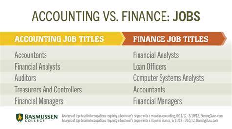 Finance Vs Accounting Mba by Accounting Vs Finance 171 Ldp