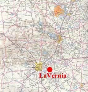 map of la vernia la vernia small town research project