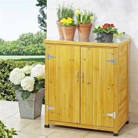 armadietto esterno armadietto da esterno in legno con piano lavoro per