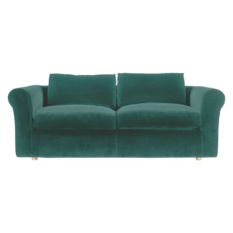 emerald sofa louis emerald green velvet 3 seater sofa buy now at