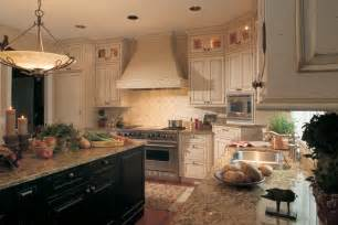 Dura supreme cabinets french country style kitchen cabinets 2 tone