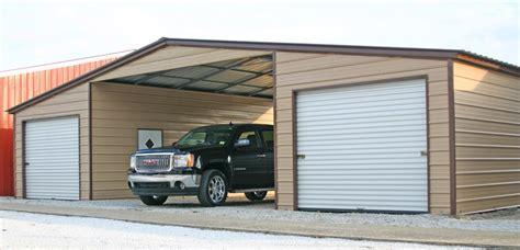 Carport Attached To Garage by Steel Carport Kits Metal Carport Kits 595