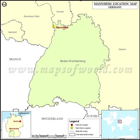 manheim germany map where is mannheim location of mannheim in germany map