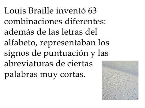 palabras una breve historia louis braille una breve historia