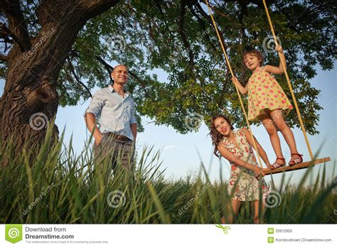 girl on the swing girl on the swing royalty free stock photo image 32612955
