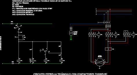star delta circuit box connectors  breaker thomelec