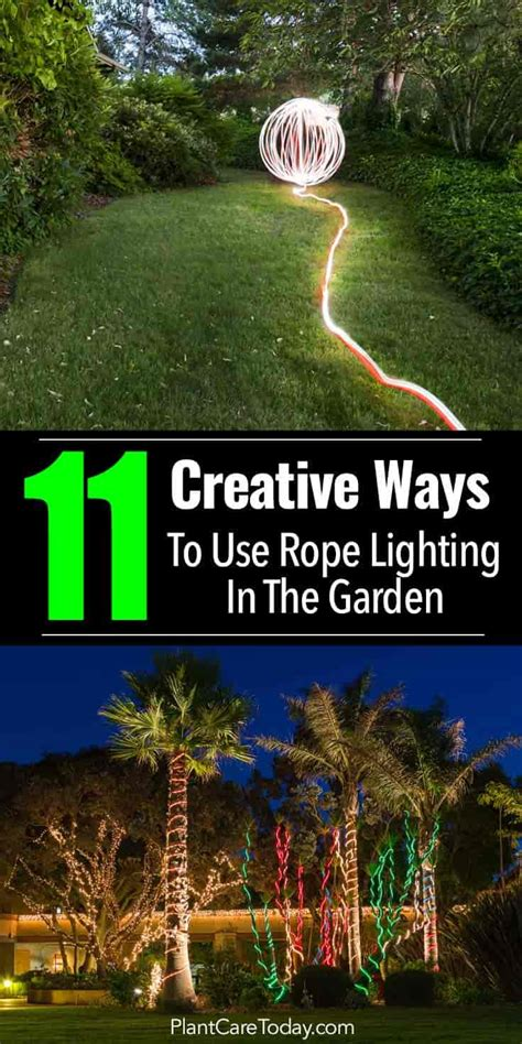 creative ways to use rope in your home s d 233 cor driven by 11 creative ideas for using rope lighting in your garden