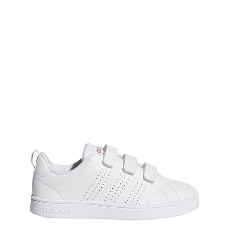 adidas  advantage clean shoes  whitepink excell