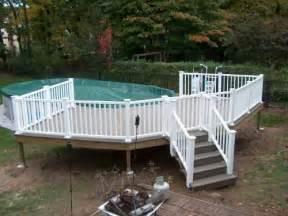 wrap around deck plans above ground pool deck above ground pool deck semi wrap