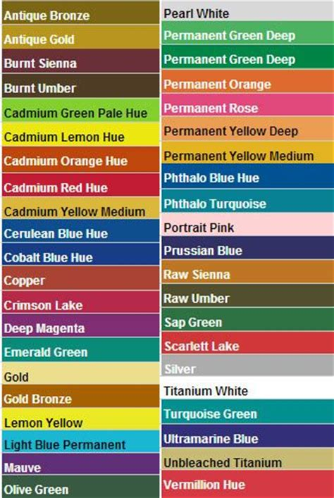 apple barrel acrylic color chart camel acrylic colors color chart jpg iza s artwork