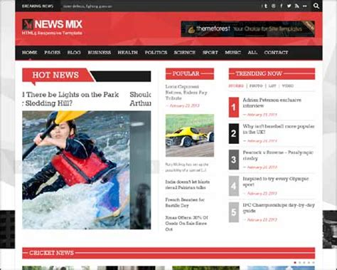 newspaper theme wordpress documentation news mix responsive magazine wordpress theme themes4wp