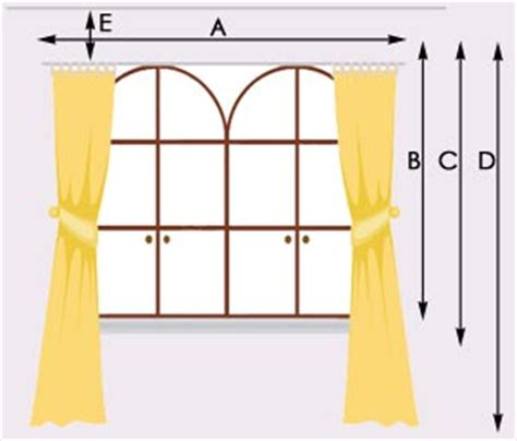 how to measure curtains curtain length guidelines decorate the house with