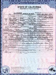 california birth certificate template step by step california research 1905 present genealogy