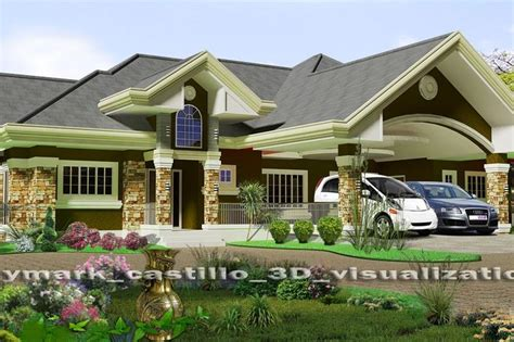 model of bungalow house 4 bedroom bungalow house