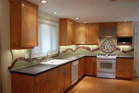 ceramic tile designs for kitchen backsplashes custom made flow ceramic kitchen backsplash by
