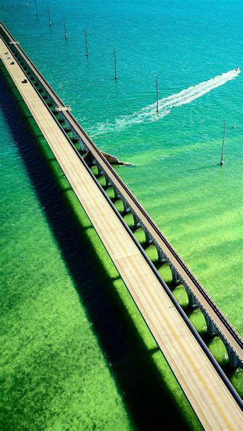 mile bridge florida keys  wallpapers hd