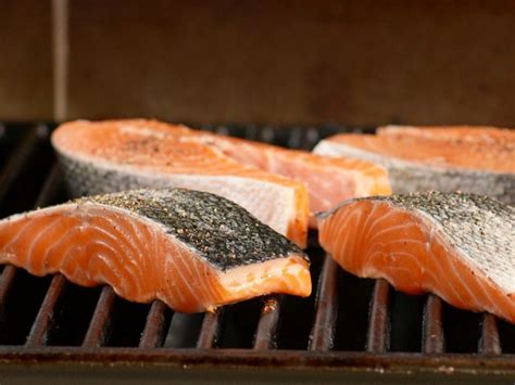 how to grill salmon food network grilling and summer