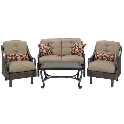 la z boy patio furniture la z boy outdoor dpst 4pc 4 seat patio