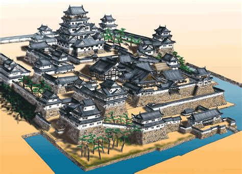 Japanese Castle Floor Plan structure of japanese castle my worlds pinterest