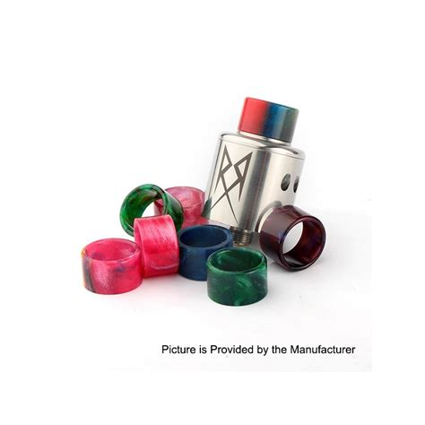 Resin Driptip For Recoil Rda replacement random color resin 9mm drip tip for recoil rda