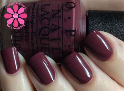 Shades Or Purple opi opi scores a goal swatch cosmetic sanctuary
