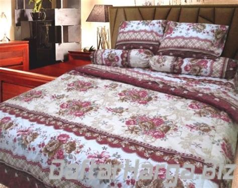 Lidia Bed Cover Set 120x200x20 No 3 Single Size daftar harga sprei berlian 2018 murah diskon big promo