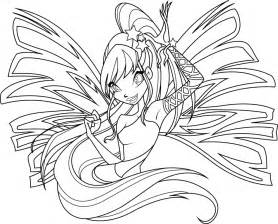 stella sirenix coloring icantunloveyou deviantart