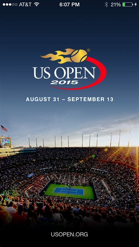2015 us open tennis chionships app store apps