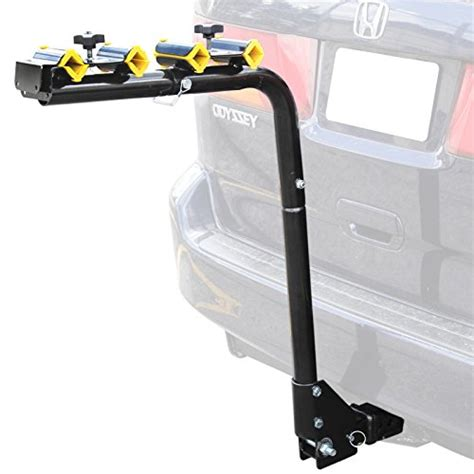 folding bike rack for car hitch mount 4 bike rack carrier swing down rear bicycle