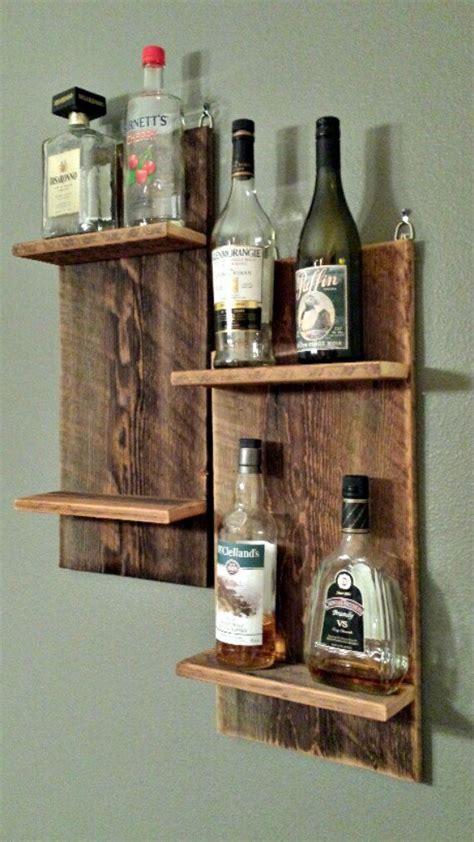 Does Liquor A Shelf by Reclaimed Barn Wood Shelf For Wine Liquor By