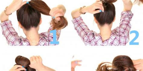 2 minute bubble bun hairstyle easy second day hair bubble bun in less than 5 minutes chikk net