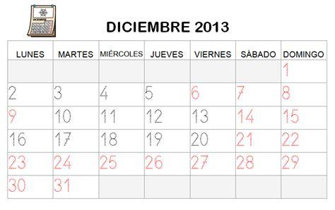 Calendario Diciembre 2013 Diciembre 2013 Imagui